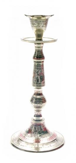 Фото - Подсвечник бронзовый цветной купить в киеве на подарок, цена, отзывы