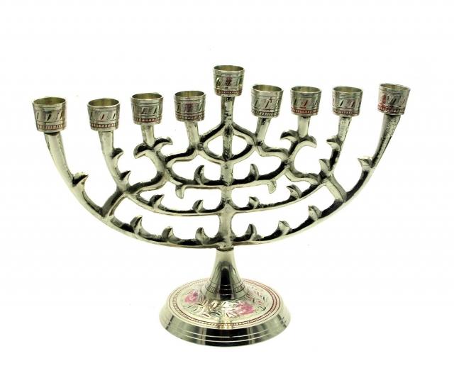 Фото - Подсвечник бронзовый менора на 9 свечей купить в киеве на подарок, цена, отзывы