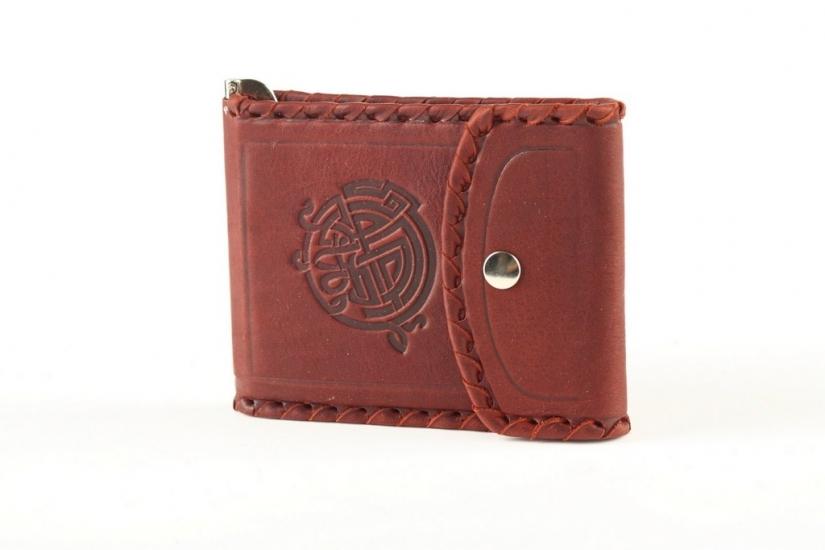 Фото - Кожаный зажим для денег Evensy купить в киеве на подарок, цена, отзывы