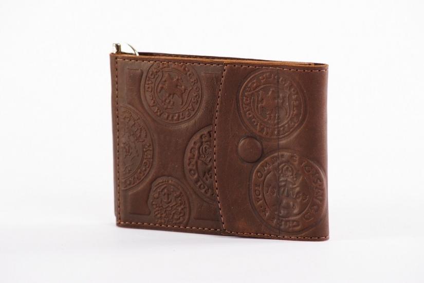 Фото - Кожаный зажим для денег Rayven купить в киеве на подарок, цена, отзывы