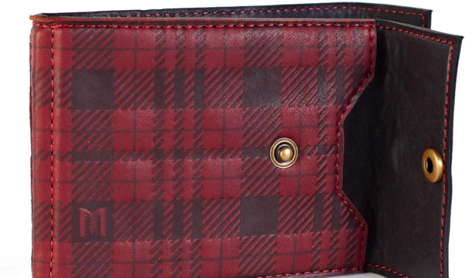 Фото - Кожаный зажим для денег Scotland купить в киеве на подарок, цена, отзывы