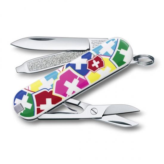 Фото - Нож Victorinox разноцветный купить в киеве на подарок, цена, отзывы
