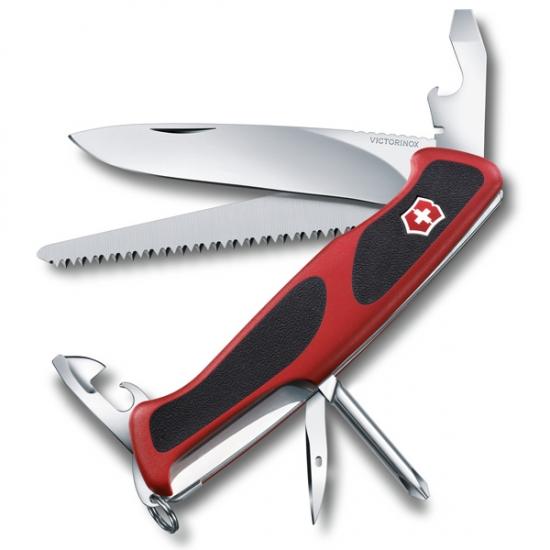 Фото - Нож Victorinox красно-черный купить в киеве на подарок, цена, отзывы