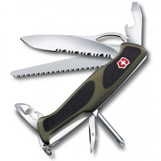Фото - Нож Victorinox RangerGrip хаки-черный купить в киеве на подарок, цена, отзывы