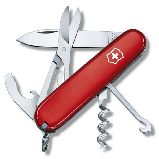 Фото - Нож Victorinox Compact Red купить в киеве на подарок, цена, отзывы
