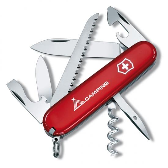 Фото - Нож Victorinox Camper Red купить в киеве на подарок, цена, отзывы