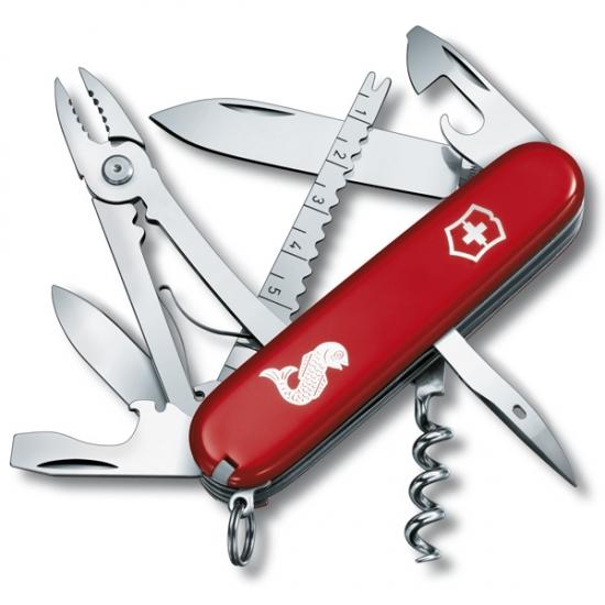 Фото - Нож Victorinox Angler Red купить в киеве на подарок, цена, отзывы