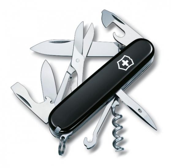 Фото - Нож Victorinox Climber Black купить в киеве на подарок, цена, отзывы