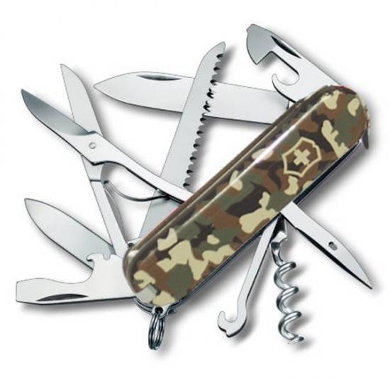 Фото - Нож Victorinox Huntsman Millitary купить в киеве на подарок, цена, отзывы