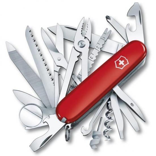 Фото - Нож Victorinox SwissChamp Red купить в киеве на подарок, цена, отзывы