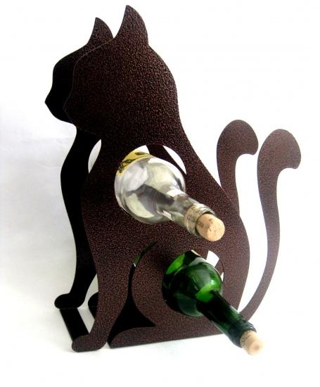 Фото - Держатель для бутылок Кошка купить в киеве на подарок, цена, отзывы
