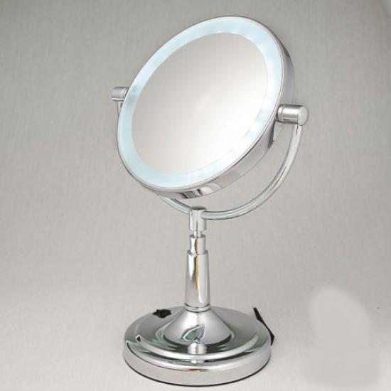 Фото - Косметическое зеркало Olivia с подсветкой купить в киеве на подарок, цена, отзывы