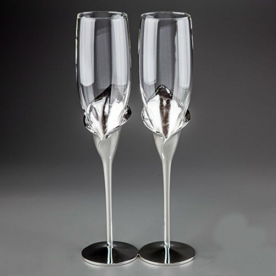 Фото - Свадебные бокалы Каллы купить в киеве на подарок, цена, отзывы