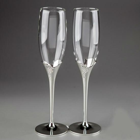 Фото - Свадебные бокалы Гроздья купить в киеве на подарок, цена, отзывы