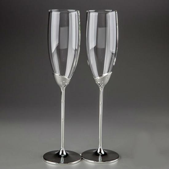 Фото - Свадебные бокалы Капельки купить в киеве на подарок, цена, отзывы