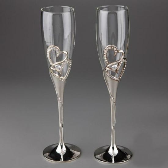 Фото - Свадебные бокалы Amia купить в киеве на подарок, цена, отзывы