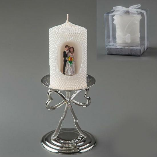 Фото - Свадебная свеча Lauren купить в киеве на подарок, цена, отзывы