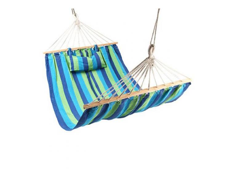 Фото - Гамак тканевый с подушкой 200х100см купить в киеве на подарок, цена, отзывы