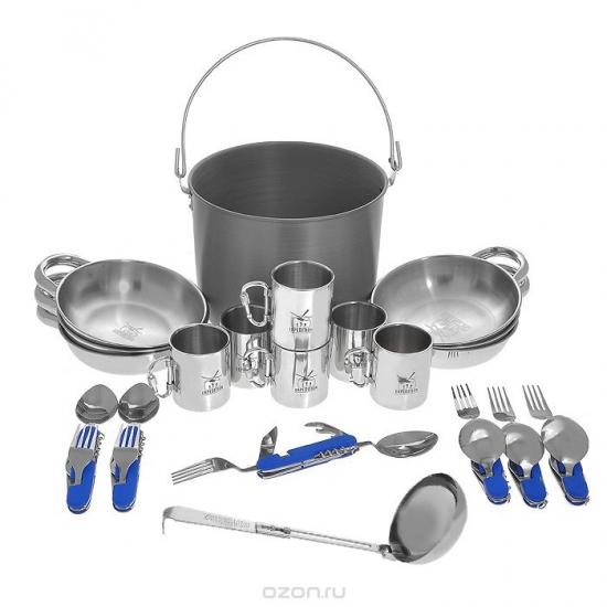 Фото - Набор посуды на 6 персон Бригадный купить в киеве на подарок, цена, отзывы