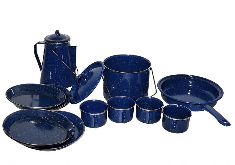 Фото - Набор походной посуды Аквамарин купить в киеве на подарок, цена, отзывы