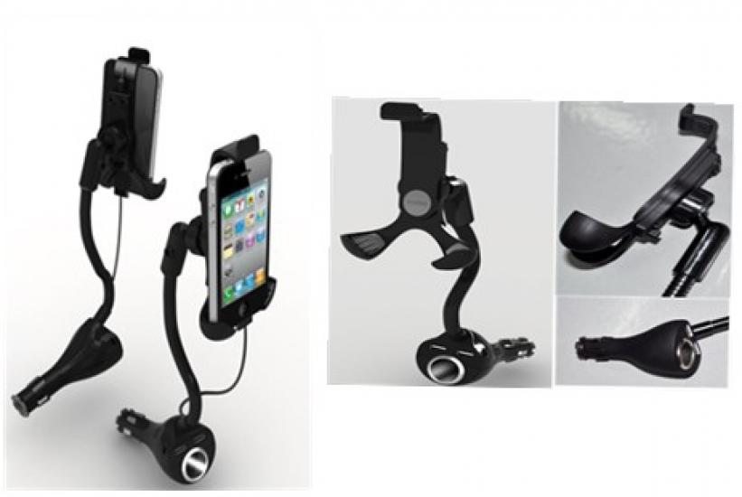 Фото - Автомобильный держатель для iphone купить в киеве на подарок, цена, отзывы