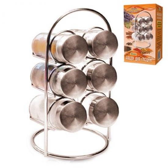 Фото - Набор для специй на 6 баночек купить в киеве на подарок, цена, отзывы