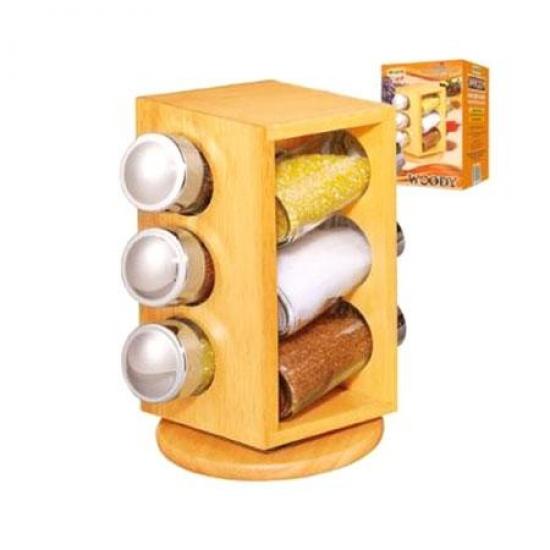 Фото - Набор для специй 6 баночек купить в киеве на подарок, цена, отзывы