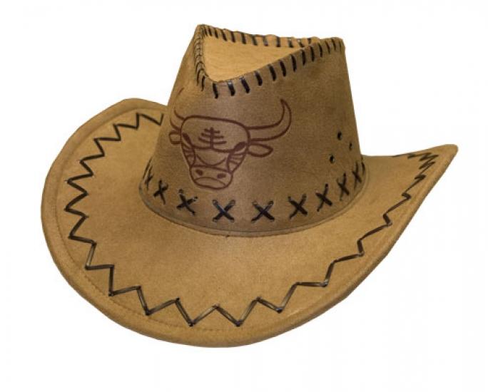 Фото - Ковбойская шляпа с орнаментом бежевая купить в киеве на подарок, цена, отзывы