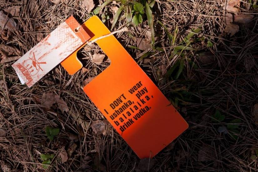 Фото - Табличка-указатель Русские не сдаются купить в киеве на подарок, цена, отзывы