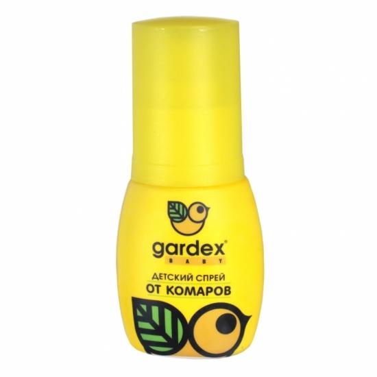 Фото - Детский спрей от комаров GARDEX Baby 50 мл купить в киеве на подарок, цена, отзывы