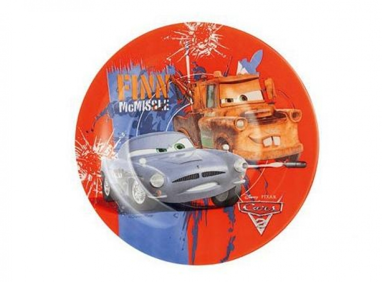 Фото - Тарелка детская десертная Luminarc 19 см Disney Cars купить в киеве на подарок, цена, отзывы