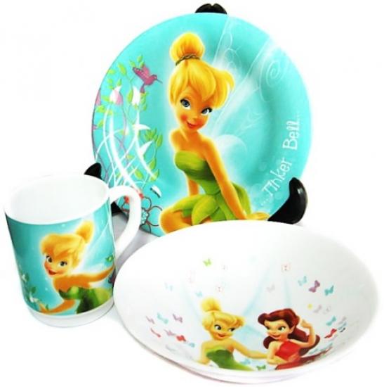 Фото - Набор детский Luminarc Disney Fairies Butterfly купить в киеве на подарок, цена, отзывы