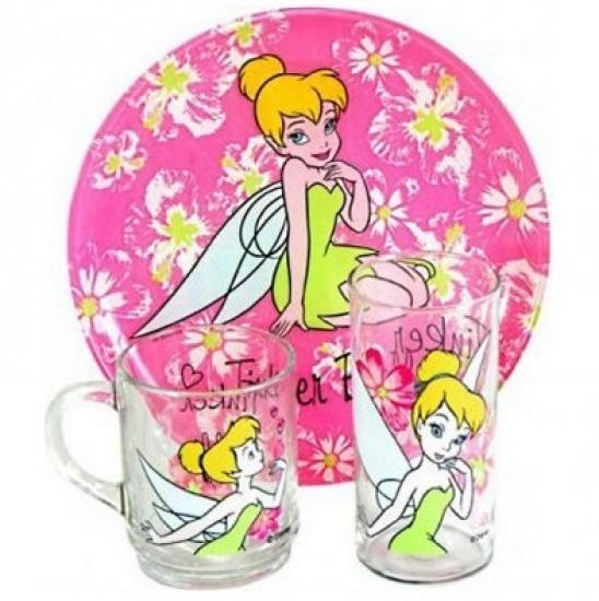 Фото - Набор детский Luminarc Disney Fairies Tinker Bell купить в киеве на подарок, цена, отзывы