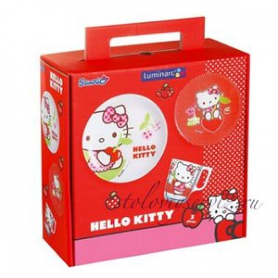 Фото - Набор детский Hello Kitty купить в киеве на подарок, цена, отзывы