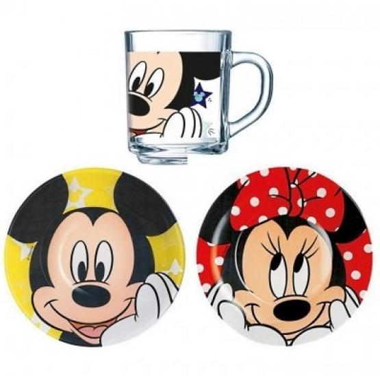 Фото - Набор детский Luminarc Disney Oh Minnie купить в киеве на подарок, цена, отзывы