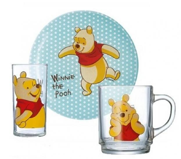 Фото - Набор детский Luminarc Disney Winnie Colors купить в киеве на подарок, цена, отзывы