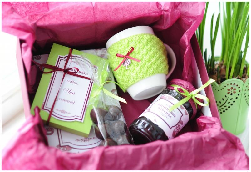 Фото - Подарочный набор Вишневый сад купить в киеве на подарок, цена, отзывы