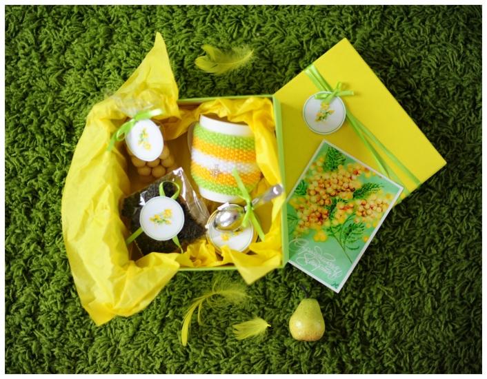Фото - Подарочный набор Мимоза купить в киеве на подарок, цена, отзывы