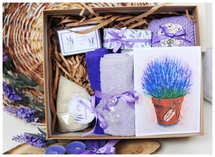 Фото - Подарочный набор Лаванда Арома купить в киеве на подарок, цена, отзывы