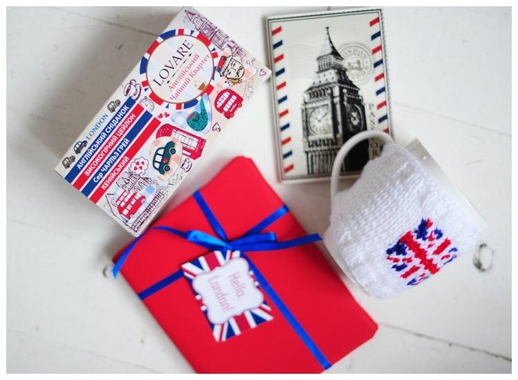 Фото - Подарочный набор  Hello London купить в киеве на подарок, цена, отзывы