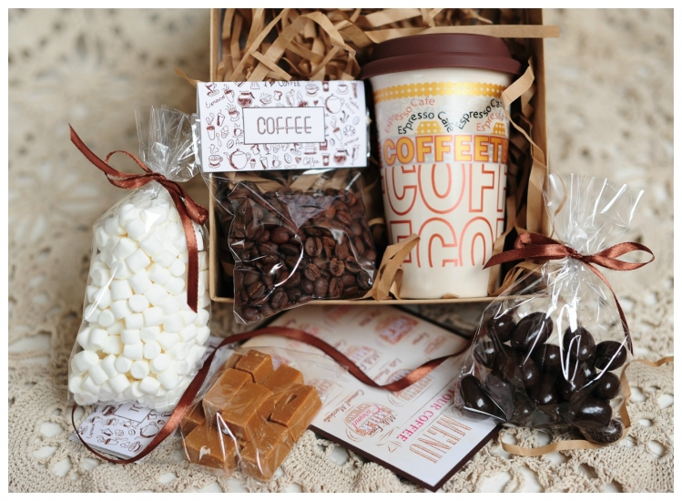 Фото - Подарочный набор CoffeeAroma купить в киеве на подарок, цена, отзывы