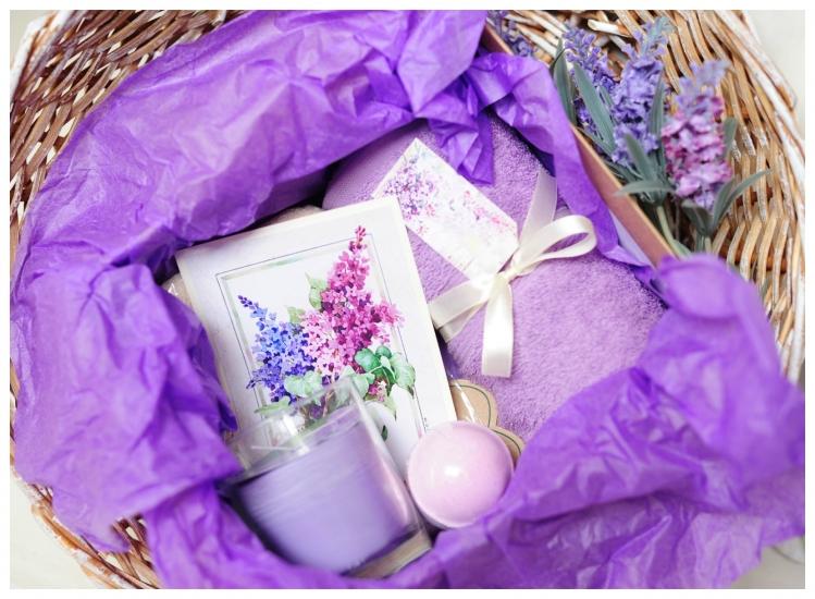 Фото - Подарочный набор Сирень купить в киеве на подарок, цена, отзывы