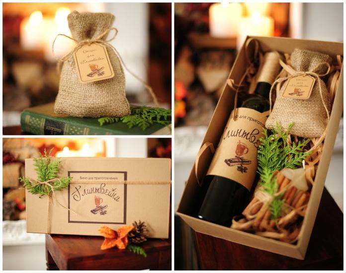 Фото - Подарочный набор Глинтвейн Крафт купить в киеве на подарок, цена, отзывы