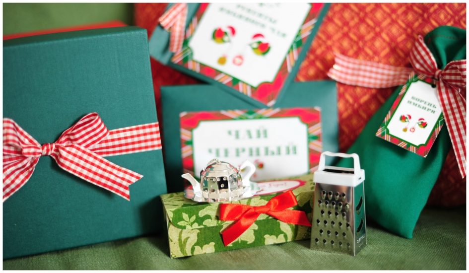Фото - Подарочный набор Имбирный Чай Новогодний купить в киеве на подарок, цена, отзывы