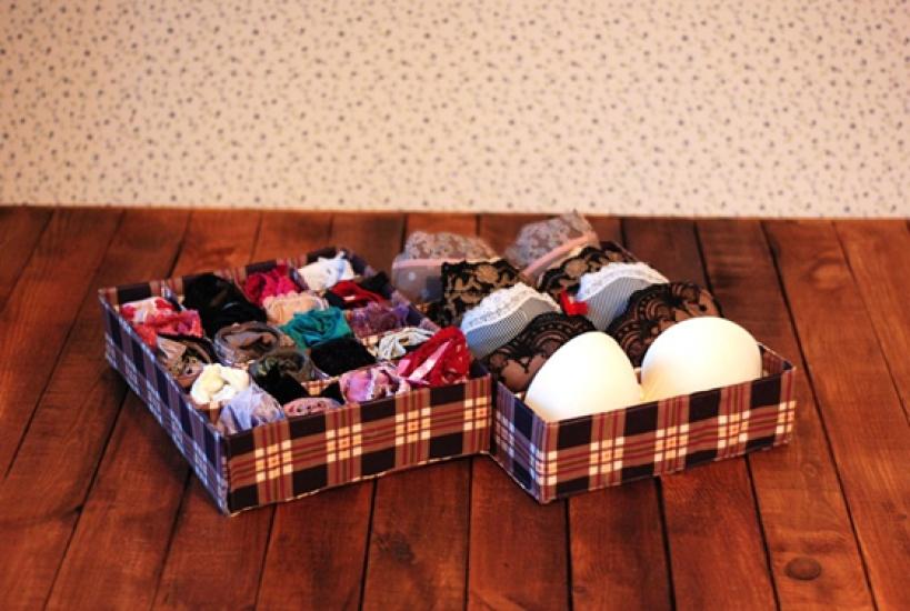 Фото - Комплект органайзеров из 2 шт кофейная клетка купить в киеве на подарок, цена, отзывы