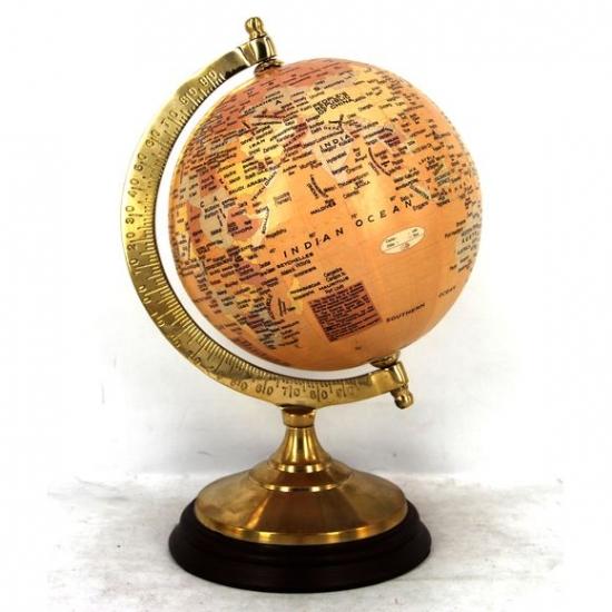 Фото - Глобус Jessica античный 12,5 см диаметр купить в киеве на подарок, цена, отзывы