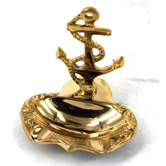 Фото - Пепельница якорь бронза купить в киеве на подарок, цена, отзывы