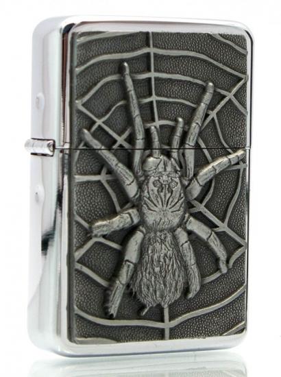 Фото - Бензиновая зажигалка паук купить в киеве на подарок, цена, отзывы