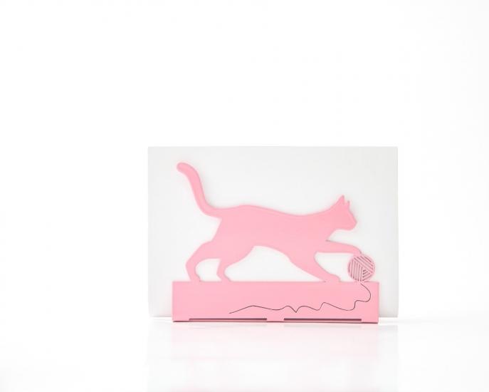 Фото - Салфетница Кошка с клубком купить в киеве на подарок, цена, отзывы