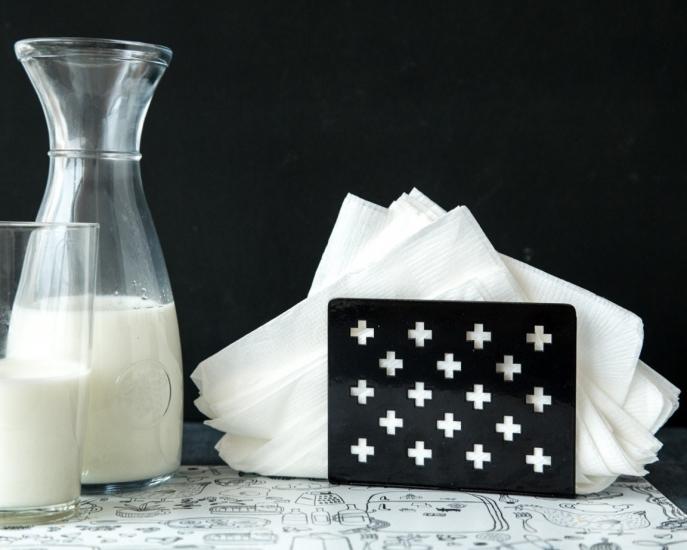 Фото - Салфетница Крестомания чёрная купить в киеве на подарок, цена, отзывы